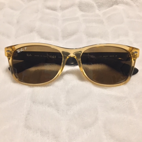 294674c163d Ray-Ban Accessories - Ray Ban Polarized Wayfarer 2132 Honey Unisex style